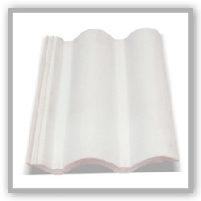 Telha Cascatel Marfim Branca