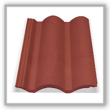 Telha Cascatel Vermelha